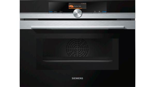 Keukensale - Siemens iQ700 Compacte oven met magnetron inox