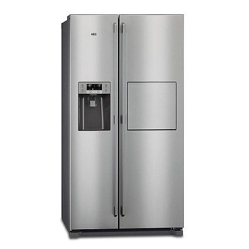 Keukensale - AEG Side By Side koelkast